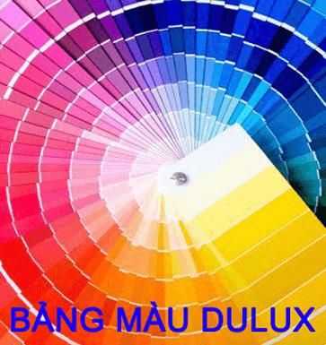 Bảng màu sơn dulux - Trang chủ