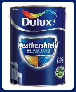 sơn Dulux ngoài trời Dulux Weathershield bề mặt bóng