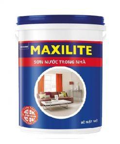 son maxilite trong nha