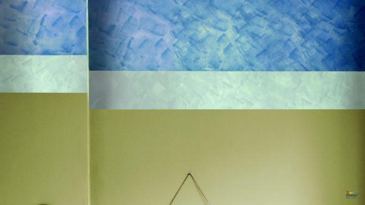 sơn 3 màu 711x400 - SƠN DULUX AMBIANCE 5 IN 1 với 2 loại 66AB và 66A- LON 5 LÍT