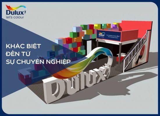 dulux son dang cap chuyen nghiep 550x400 - Chất lượng của sơn Dulux?