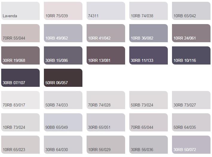 Các màu tím violet nhạt - Bảng màu sơn Dulux| Quạt màu sơn Dulux
