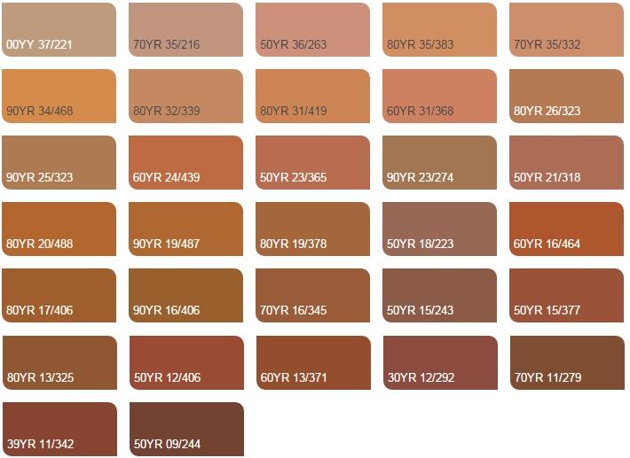 Màu cam nhạt 3 - Bảng màu sơn Dulux| Quạt màu sơn Dulux