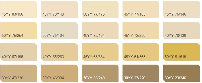 màu vàng nhạt 2 - Bảng màu sơn Dulux| Quạt màu sơn Dulux