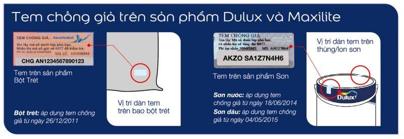Tem ph%C3%A2n bi%E1%BB%87t h%C3%A0ng gi%E1%BA%A3 800x277 - Phân biệt SƠN DULUX và MAXILITE chính hãng